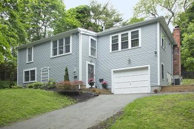 Hingham Single Family Home Contingent: 1 Foley Ct