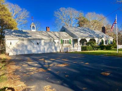 Barnstable Single Family Home Contingent: 135 Oak Hill Rd