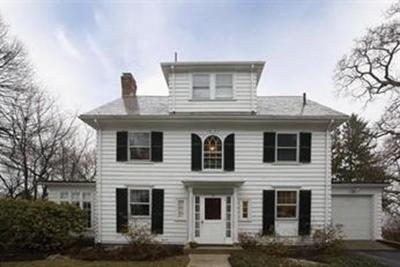 Newton Single Family Home Price Changed: 85 Waban Hill Rd N