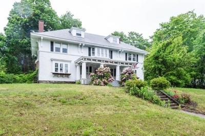 Worcester Single Family Home Under Agreement: 393 May St
