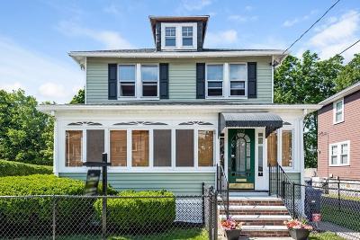 Boston Single Family Home Under Agreement: 102 Elmer Rd