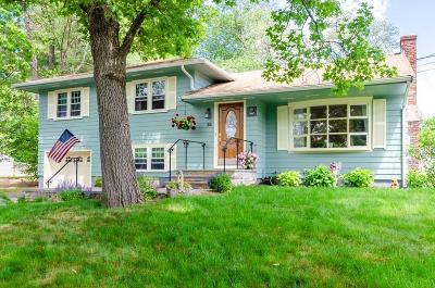 Burlington Single Family Home For Sale: 35 Terrace Hall Ave