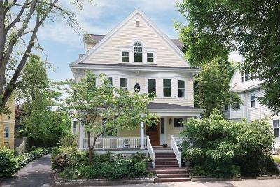 Brookline Single Family Home Under Agreement: 14 Milton Rd