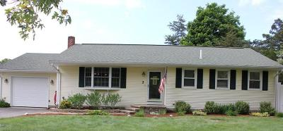 Middleboro Single Family Home Contingent: 2 Carmen Park Dr