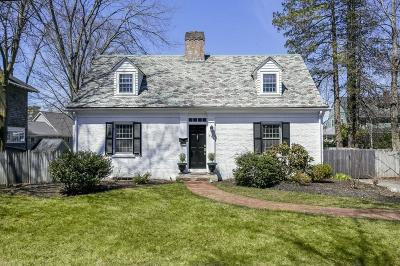 Wellesley Single Family Home For Sale: 373 Worcester Street