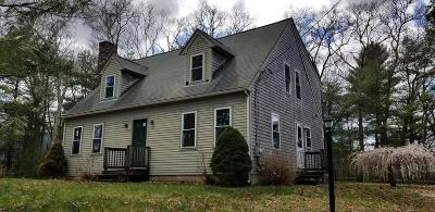 Middleboro Single Family Home Contingent: 70 Fuller St
