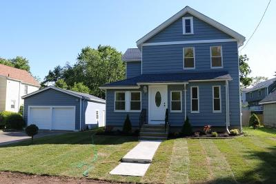 Natick Single Family Home For Sale: 3 D St