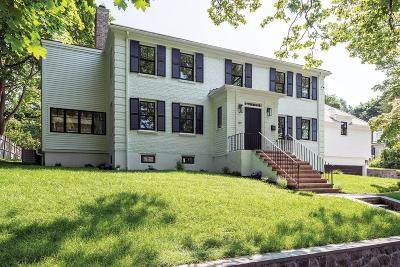 Brookline Single Family Home For Sale: 119 Walnut Hill Rd
