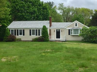 Norwell Single Family Home For Sale: 1084 Main Street