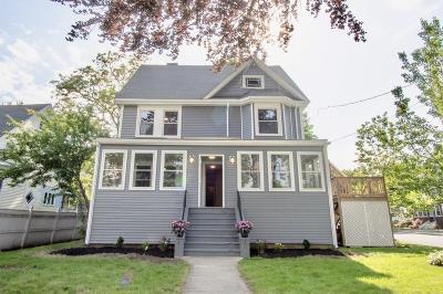 Stoneham Multi Family Home Contingent: 9 Harrison Street