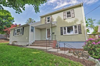 Braintree Single Family Home Contingent: 37 Hobart St