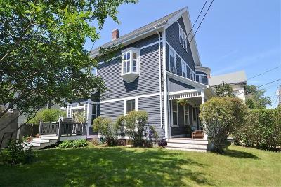 Somerville Single Family Home Under Agreement: 12 Pembroke Street