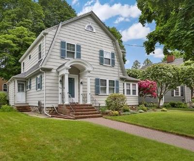 Melrose Single Family Home Under Agreement: 49 Garfield Road