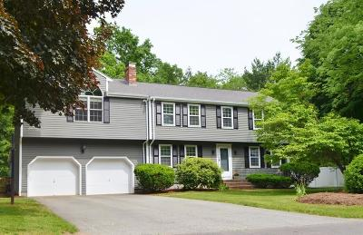 Mansfield Single Family Home Contingent: 3 Meadow Lane