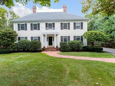 Wellesley Single Family Home For Sale: 3 Hewins Farm Road