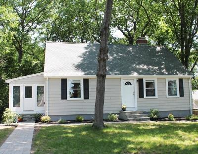 Arlington MA Single Family Home Under Agreement: $759,000