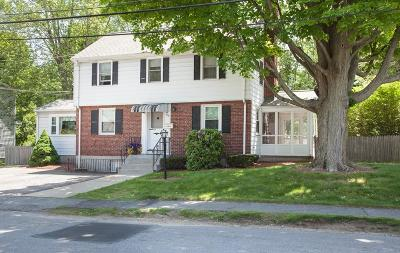Waltham Single Family Home Contingent: 135 Longfellow Road