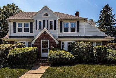Belmont Single Family Home Under Agreement: 225 Washington Street
