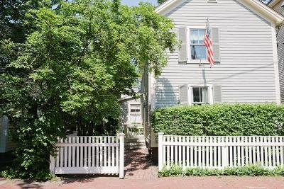 Cambridge MA Single Family Home Under Agreement: $1,650,000