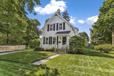 Reading MA Single Family Home Under Agreement: $639,900
