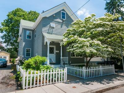 Cambridge MA Single Family Home Under Agreement: $995,000