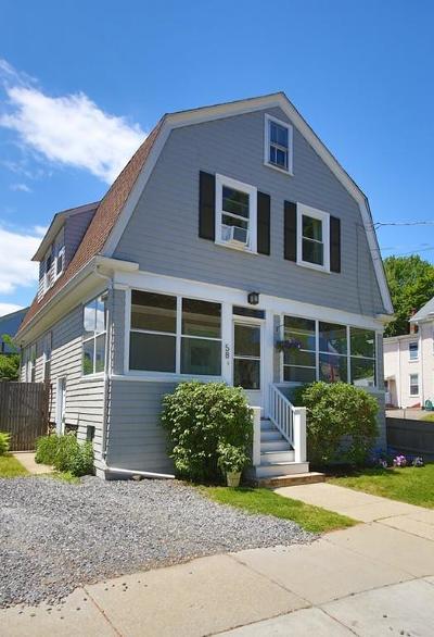 Newton Single Family Home Under Agreement: 58 Henshaw Street