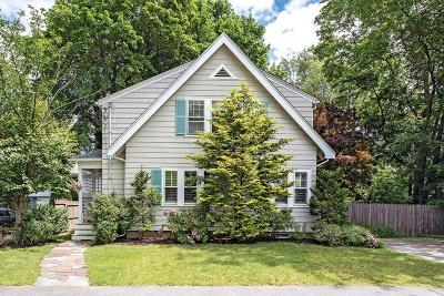 Newton Single Family Home Under Agreement: 11 Niles Rd