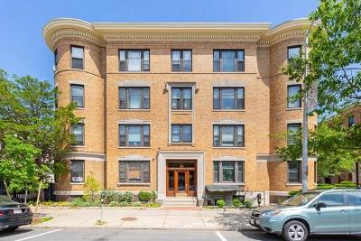 Cambridge Condo/Townhouse For Sale: 1783 Massachusetts Ave #7