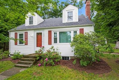 Wayland Single Family Home For Sale: 152 Concord Rd
