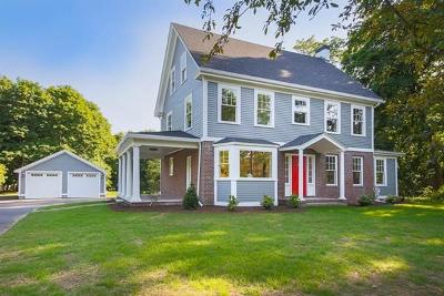 Wenham, Hamilton Single Family Home For Sale: 29 Monument Street