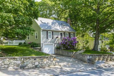 Dedham Single Family Home Under Agreement: 213 River St