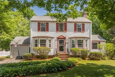 Needham Single Family Home Contingent: 100 Mayflower Rd