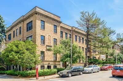 Cambridge Condo/Townhouse For Sale: 6 Crawford St #7