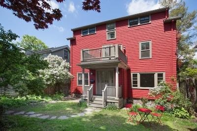 Cambridge Single Family Home For Sale: 20 Maynard Place