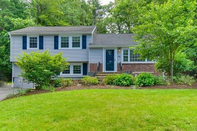 Reading MA Single Family Home For Sale: $579,900