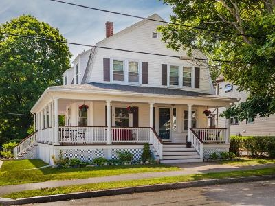Quincy Single Family Home For Sale: 93 Sachem St