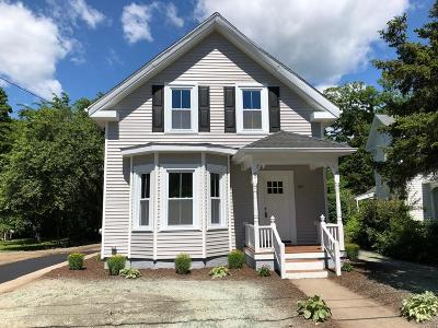 Holliston Single Family Home Under Agreement: 39 Mechanic St