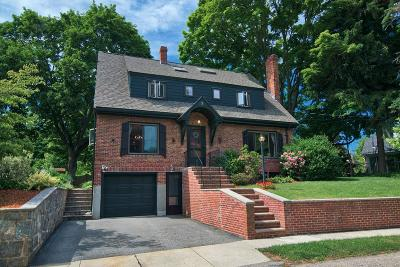Belmont Single Family Home Under Agreement: 9 Plymouth Ave.