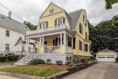 Melrose Single Family Home For Sale: 143 Green Street