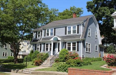 Arlington MA Single Family Home Under Agreement: $895,000