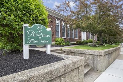 Medford Condo/Townhouse Contingent: 349 Fulton St #10