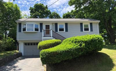 Arlington MA Single Family Home Under Agreement: $599,000