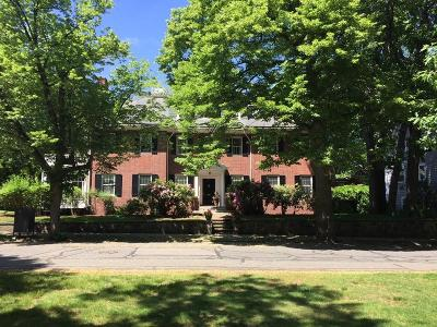 Brookline Single Family Home Under Agreement: 21 Mason St