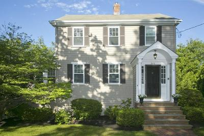 Hingham Single Family Home Contingent: 245 Central Street