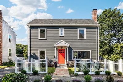Arlington MA Single Family Home Under Agreement: $774,900