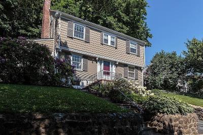 Belmont Single Family Home Under Agreement: 78 Scott Rd