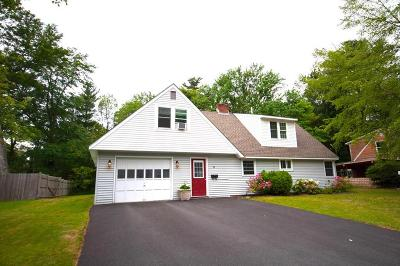 Natick Single Family Home Contingent: 9 Curtis Road