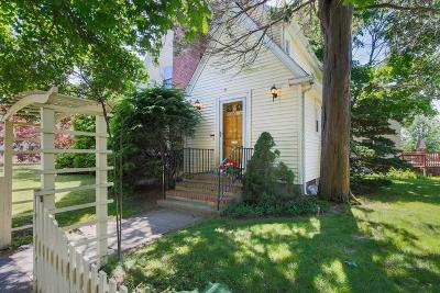 Arlington MA Single Family Home Under Agreement: $749,000