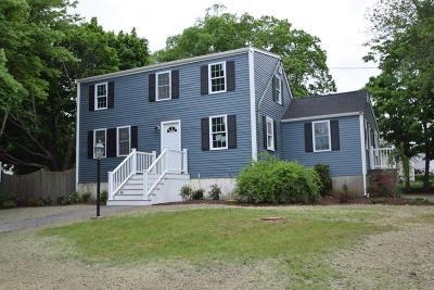 Randolph Single Family Home Under Agreement: 63 Chestnut Cir