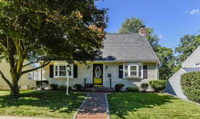 Dedham Single Family Home Under Agreement: 45 Taylor Ave